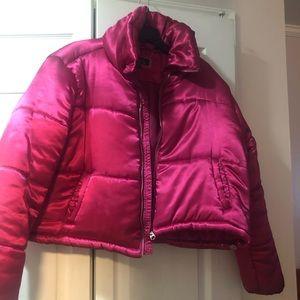 Junior XL puffy waist length puffy coat